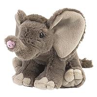 Wild Republic African Elephant Baby Plush Soft Toy, Cuddlekins Cuddly Toys, Gifts for Kids 20 cm