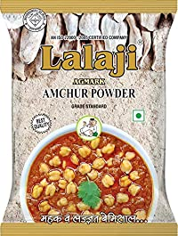 Lalaji Supreme Quality Dry Mango Powder (Aamchur Powder) Used in Dishes for its Mouthwatering Taste (500)