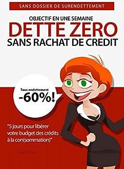 DETTE ZERO : Comment réduire ses dettes rapidement: 5 jours pour installer facilement votre plan d'élimination de crédits: Sans rachat de crédit, sans dossier de surendettement par [Ségaut, Lionel]