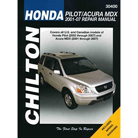 Honda Pilot/Acura MDX: 2001-07 Repair Manual