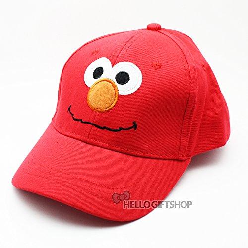 Baseball Cap–Sesamstraße–Elmo Red Hat Kid Jungen Toys New ss8532b-2 Elmo Hat