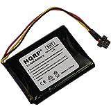 HQRP Batterie pour TomTom R2, FMB0829021142, 6027A0093901, FLB0920012619, ICP653443M, P11P20-01-S02, 6027A0106201; Pro 4000, One XL 340, 340S LIVE XL, XL330, XXL 550 GPS Navigator