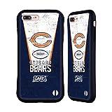 Head Case Designs Officiel NFL 100e Bannière 2019/20 Chicago Bears Coque Hybride Compatible avec iPhone 7 Plus/iPhone 8 Plus
