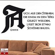 Suchergebnis Auf Amazon De Für Goethe Zitat Steine