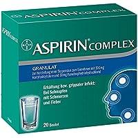 ASPIRIN COMPLEX Btl.m.Gran.z.Herst.e.Susp.z.Einn. 20 St Granulat zur Herstellung einer Suspension zum Einnehmen preisvergleich bei billige-tabletten.eu