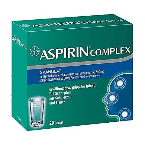 ASPIRIN COMPLEX Btl.m. Gran.z.Herst.e.Susp.z.Einn. 20 St Granulat zur Herstellung einer Suspension zum Einnehmen