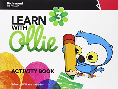 LEARN WITH OLLIE 3 ACTIVITY BOOK - 9788466830003