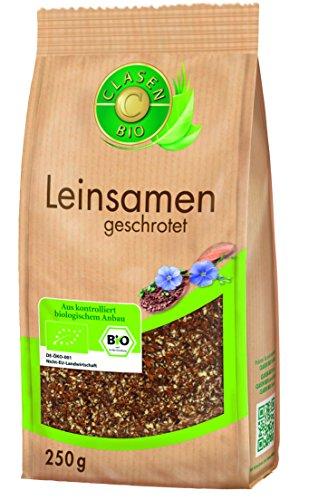 Image of CLASEN BIO Leinsamen geschrotet (3x250g)