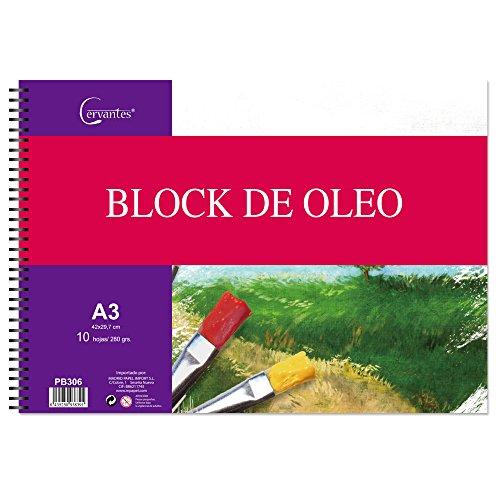 Cervantes PB306–Block für Ölmalerei, A3