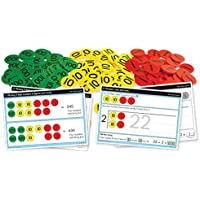 """Inspirational Classrooms 3125202 """"Place Value HTU Counters and Work Card Educational Toy (Pack of 300)"""