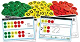 """Inspirational Classrooms 3125202 """"Place Value HTU Counters and Work Card"""" Educational Toy (Pack of 300)"""