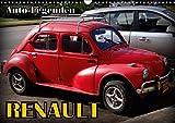 Auto-Legenden: RENAULT (Wandkalender 2018 DIN A3 quer): Oldtimer von Renault auf Kuba (Monatskalender, 14 Seiten ) (CALVENDO Mobilitaet) [Kalender] [Apr 07, 2017] von Löwis of Menar, Henning