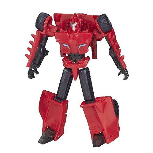 Transformers Minifiguren (Hasbro - Transformers Robots In Disguise - Legion Class Sideswipe Figur [UK Import])