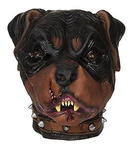 Bristol Novelty bm471Zombie Rottweiler máscara (Talla única)