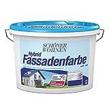 Hybrid Fassadenfarbe Weiss 1 L Matt Schoener Wohnen