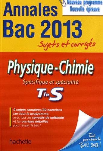 Frédérique La Baume Elfassi De Objectif Bac 2013 Annales