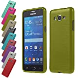 Silverback 7081357299203 Metallisch-Look TPU Silikon Schutzhülle für Samsung Galaxy Grand Prime G530