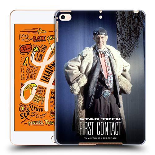 Head Case Designs Offizielle Star Trek Volles Kostüm Zefram Cochrane Der Erste Kontakt TNG Harte Rueckseiten Huelle kompatibel mit iPad Mini - Apple Ipad Kostüm