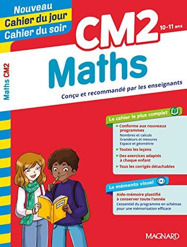 Cahier du jour/Cahier du soir Maths CM2 par Collectif