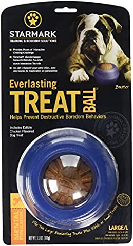 Starmark Everlasting Dog Treat Ball, Large