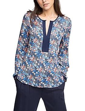 ESPRIT Collection Mit Ärmelriegel - Blusa Mujer