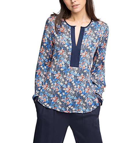 ESPRIT Collection Damen Bluse Mehrfarbig (BLUE 430)