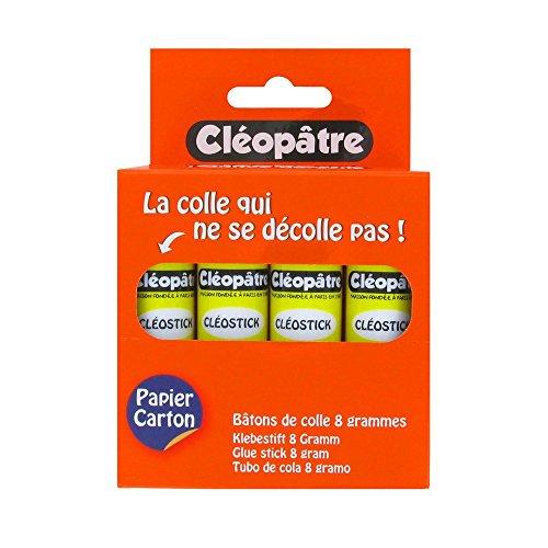 cleopatre-cleostick-boite-de-12-batons-de-colle-8-g-transparent