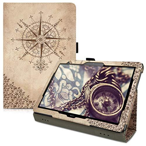 kwmobile Huawei MediaPad T5 10 Hülle - Tablet Cover Case Schutzhülle für Huawei MediaPad T5 10...