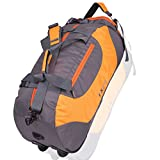 Istorm Polyester Orange & Grey Travel Duffles