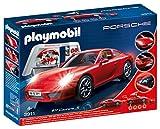 Playmobil 3911 - PORSCHE 911 CARRERA S - Le toit peut être enlevé pour insérer la figure, ajustement sur les chiffres de deux enfants de banquette arrière - La fixation de la jante à l'accordage peut être enlevée avec l'outil spécial roue - L...