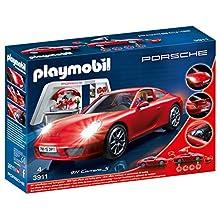 Playmobil 3911 Porsche 911 Carrera S with Lights & Workshop