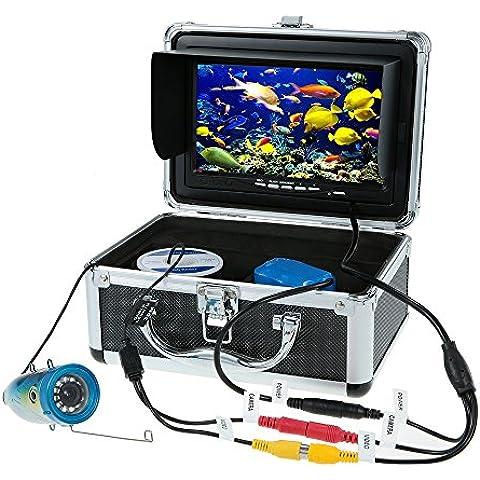 Docooler 7 Inch Sonar Pesca a Colori