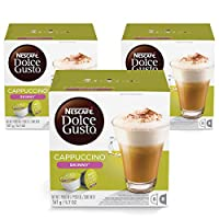 Nescafe Dolce Gusto Skinny Cappuccino Coffee Capsules (48 Capsules,  24 Cups)
