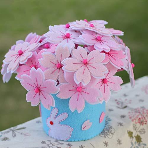 ura Hand Machen Topf Filz Applique Ornament Kit Sewing Art ()