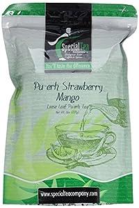 Special Tea Loose Leaf Pu-erh Tea, Strawberry Mango, 8 Ounce