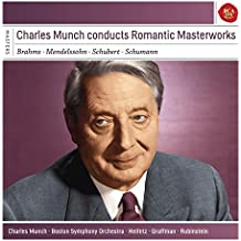 Charles Munch Conducts Romantic Masterworks. Serie Sony Classical Masters