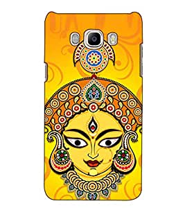 Fuson Designer Back Case Cover for Samsung Galaxy J5 (6) 2016 :: Samsung Galaxy J5 2016 J510F :: Samsung Galaxy J5 2016 J510Fn J510G J510Y J510M :: Samsung Galaxy J5 Duos 2016 (Kalika mata theme)