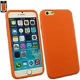"Emartbuy® Apple Iphone 6 6G 6S 4.7 "" Zoll Silicon Hülle Schutzhülle Case Cover Orange"