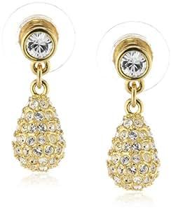 Swarovski Damen-Ohrringe HELIOSE vergoldeter Edelstahl 2 cm 1075334