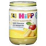 Hipp Bio Frucht & Getreide Apfel-Banane mit Babykeks, 190 g