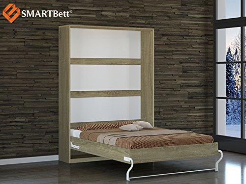 Schrankbett SMARTBett 140cm Vertikal Eiche Sonoma - 2