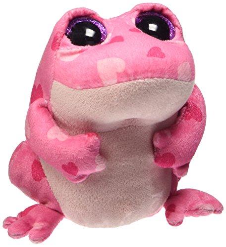 """Beanie Boo Valentine's Frog - Smitten - Pink - 15cm 6"""""""