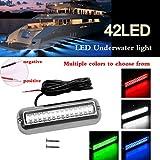 Fansport Luce Universale per Barca 42 LED Impermeabile per Barche Luce Subacquea A LED