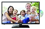 Lenco DVBT2 Fernseher DVL-3252BK 32 Zoll (80 cm) Full HD, LED Fernseher mit DVD-Player, HDMI, USB, SCART, CI+