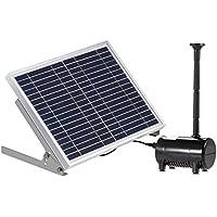 Anself 10 W de equipos alta potencia Paisaje solar Fuente 17 V Jardín Bomba de agua solar Fuentes decorativa