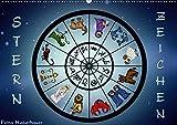 Sternzeichen (Wandkalender 2018 DIN A2 quer): Sternzeichen Horoskop (Monatskalender, 14 Seiten ) (CALVENDO Kunst) [Kalender] [Apr 01, 2017] Creation, Pezi