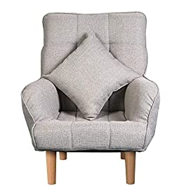 Buzhidao Chaise Pliante Chaise Longue Chaise Canapé Confortable Chaise Pliante Balcon Chaise Longue Fauteuil Décontracté…