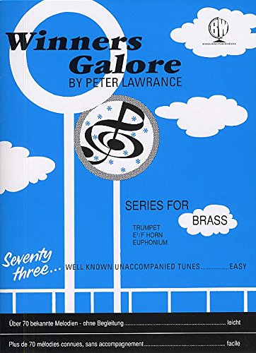 51t3QGFNs7L - NO.1 BEAUTY# Peter Lawrance: Winners Galore (Treble Brass). Sheet Music for Trumpet, French Horn, Euphonium Reviews  Best Buy price
