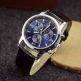Tocoss(TM) neue m?nnlichen Luxusuhr bekannte Marken Klassische Art und Weise hei?e M?nner Luxusmode-PU-Leder-Quarz-Armbanduhr Sport-Uhr