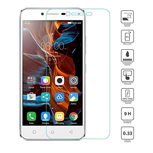 CRYTECH Lenovo Vibe K5 Note,9H Hardness ,Crystal Clear ,3D Touch Compatible Tempered Glass Screen Protector for Lenovo Vibe K5 Note